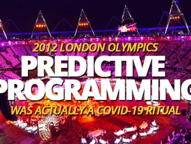 Dark and sinister opening ceremony of the 2012 London Olympics used predictive programming