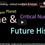 critical thinking - critical numbers & future history