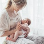 Breastfeeding provides passive and likely long-lasting active immunity.