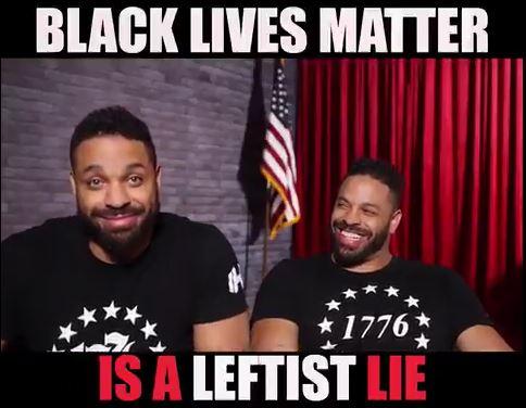 BLACK LIVES MATTER IS A LEFTIST LIE…