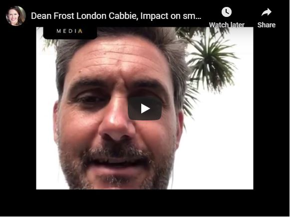 Dean Frost London Cabbie, Impact on small businesses and Mental Health 5.6.20