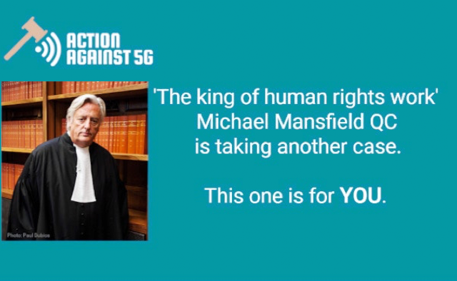 UK's leading human rights barrister to lead anti-5G fight