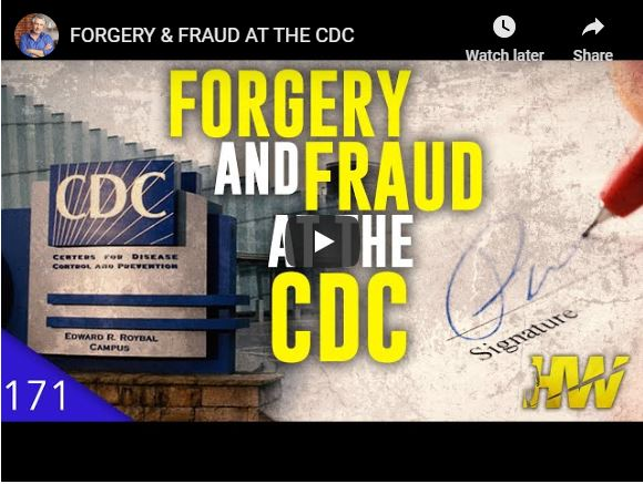 FORGERY & FRAUD AT THE CDC