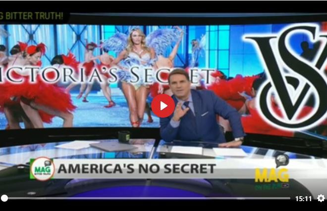 """UNBELIEVABLE"" THE MAINSTREAM MEDIA EXPOSED VICTORIA SECRETS"