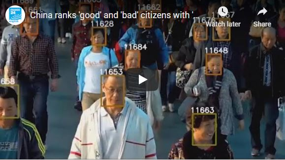 China ranks 'good' and 'bad' citizens with 'social credit' system