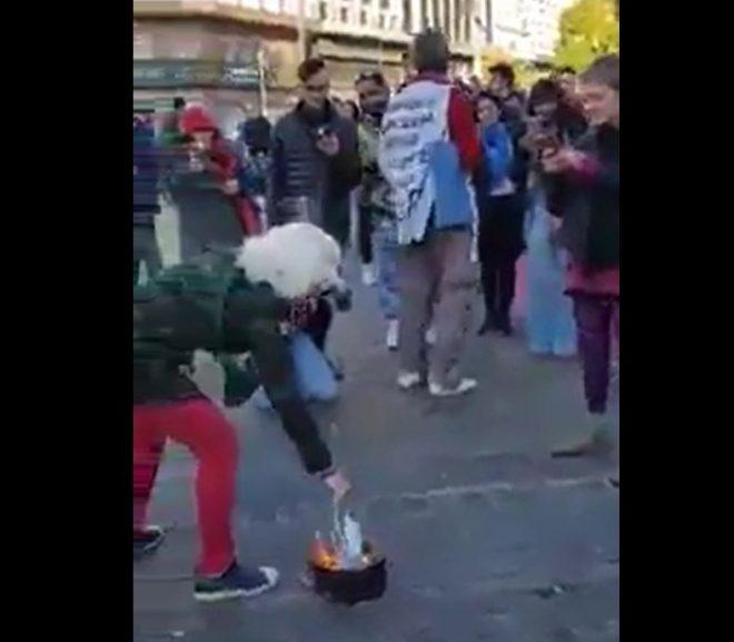 Mask Burning has Started