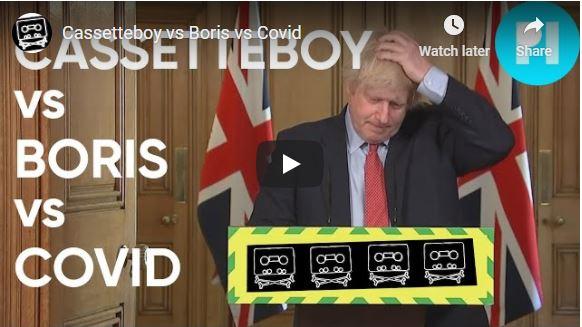 Cassetteboy vs Boris vs Covid