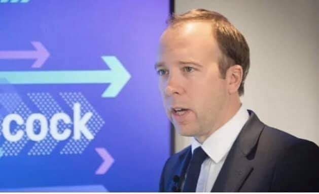 LOCK UP THE COCK UP… Health Secretary Hancock lying about false positives