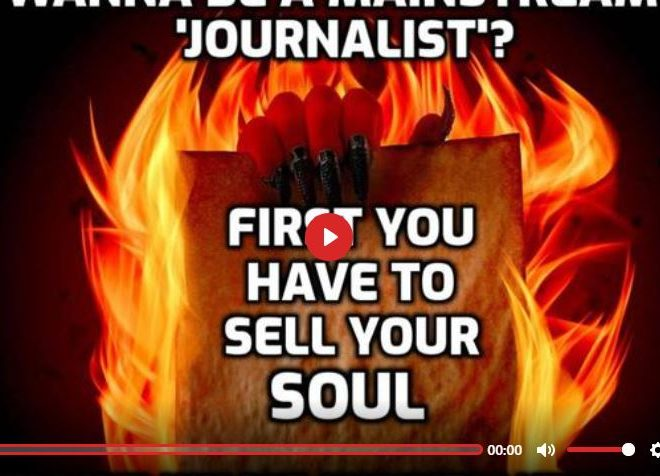 WANNA BE A MAINSTREAM JOURNALIST? FIRST YOU HAVE TO SELL YOUR SOUL – DAVID ICKE DOT-CONNECTOR