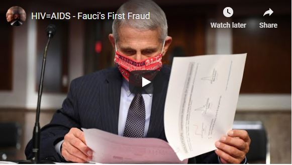 HIV=AIDS – Fauci's First Fraud