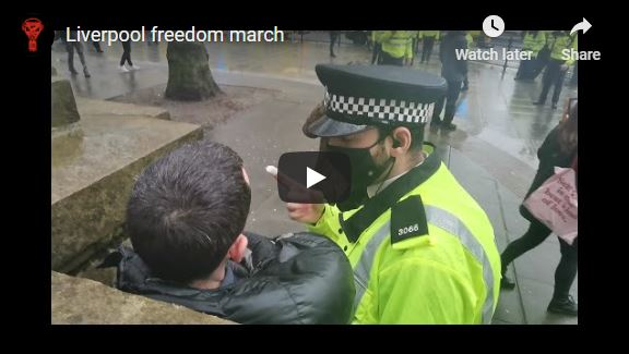 Liverpool freedom march 22/11/20