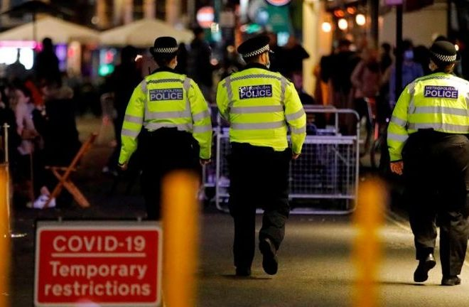 COVID-19: Police to stop issuing £10,000 'super fines' over concerns they can be challenged in court