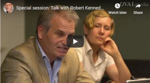 Special session: Talk with Robert Kennedy Jr. about the Berlin demonstrations and vaccination. Vaccines.
