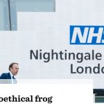 The Covid Physician: Boiling the bioethical frog
