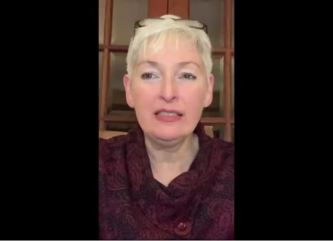NHS WHISTLEBLOWER LOUISE HAMPTON TALKS TO FORMER RADIOGRAPHER ANN DEVLIN ABOUT 'COVID'