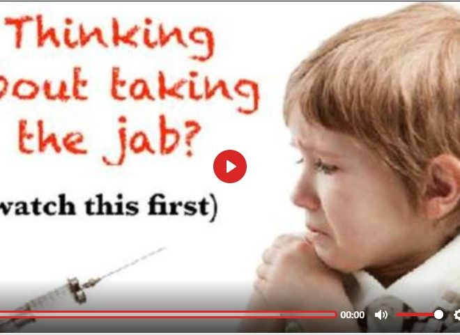 THINKING ABOUT TAKING THE JAB? WATCH THIS FIRST! BY SPACEBUSTERS