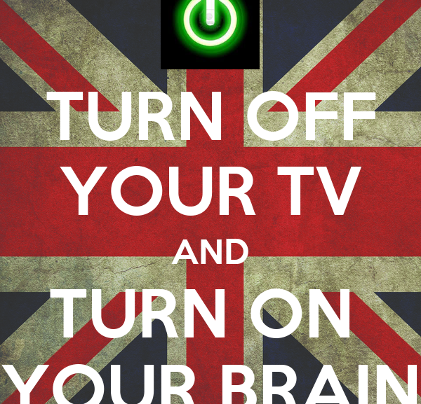 Turn off your TV…