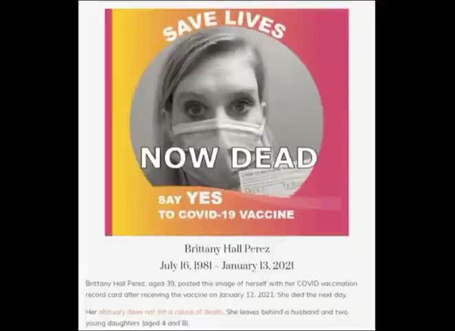 MORE VACCINE DEATHS… AND THE BODIES ARE PILING UP
