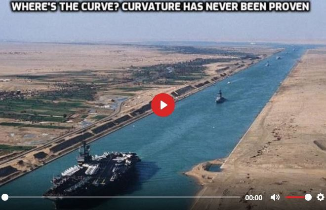 CANALS AND RAILROADS PROVE FLAT EARTH 100%