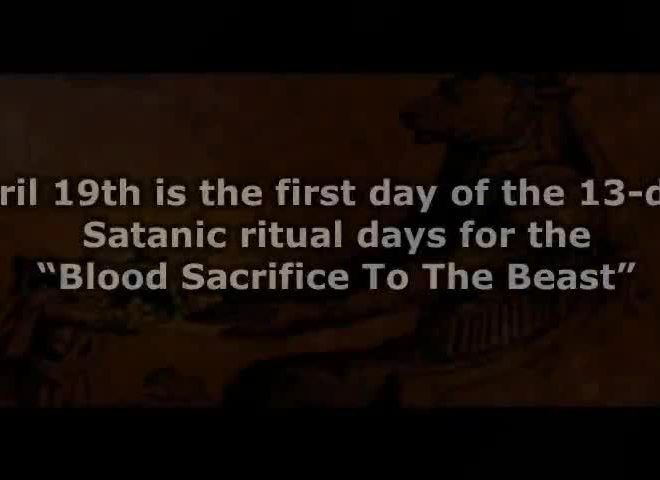13 DAY SATANIC RITUAL IS HAPPENING! VACCINES AVAILABLE TO EVERYONE APRIL 19 NO COINCIDENCES!