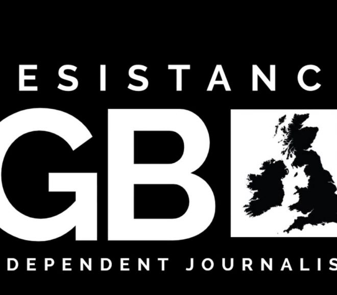 Protesters Sticker BBC Over Lies & Propaganda