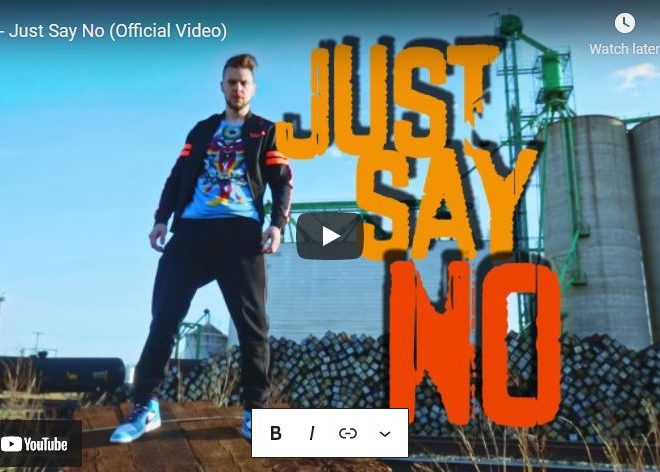 RC – Just Say No (Official Video)