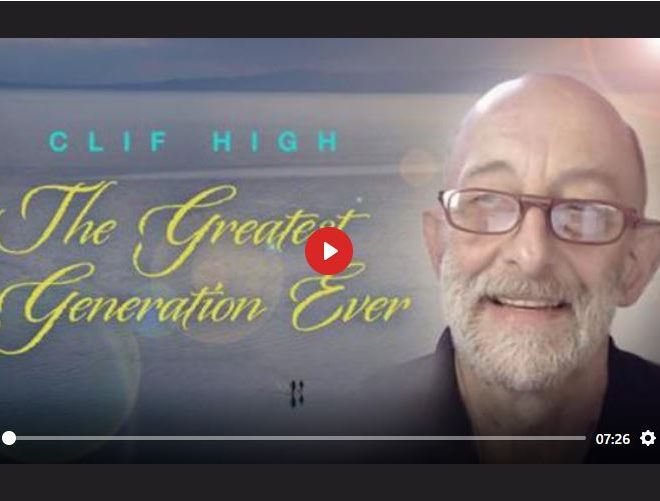 CLIF HIGH – THE GREATEST GENERATION EVER