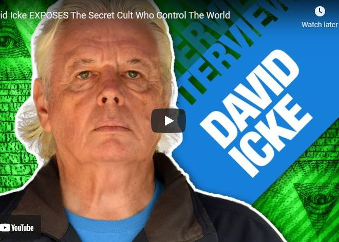 David Icke EXPOSES The Secret Cult Who Control The World