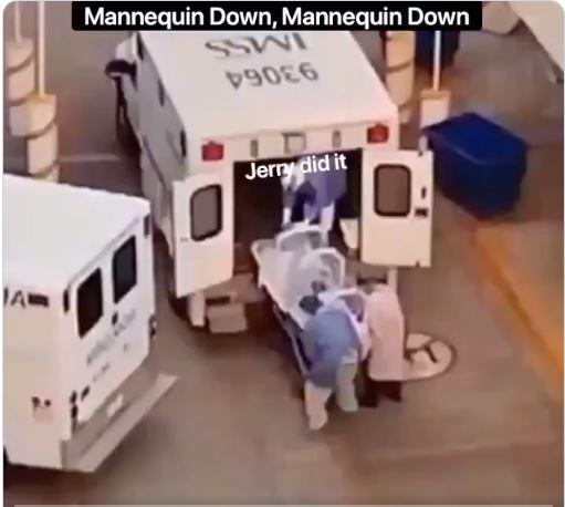 Mannequin Down ! Mannequin Down !