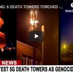 6 DEATH TOWERS TORCHED - SMOKED - IN MEMPHIS TENNESSEE