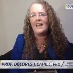 PROFESSOR DOLORES J. CAHILL WITH DEL BIGTREE