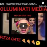 QANON -HOLLYWEIRD EXPOSED! ADRENOCHROME PIZZAGATE KILLUMINATI FAMILY SHARE BEFORE GONE!