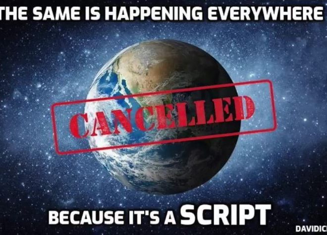 IT'S A SCRIPT & PEOPLE ARE STARTING TO SEE THROUGH IT – DAVID ICKE