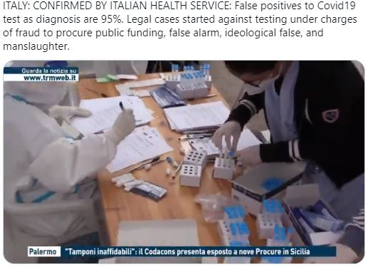 The first legal action begins with the related complaint, brought by 4 scientists and a lawyer. PCR Test is Fraudulent.