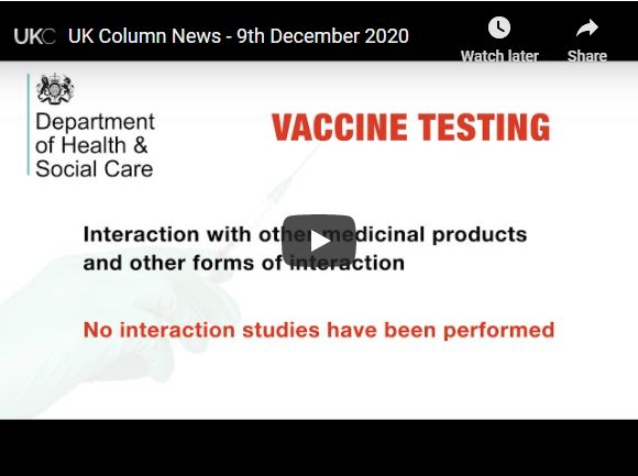 UK Column News – 9th December 2020