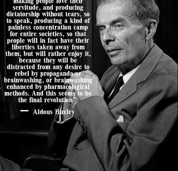 Huxley Nailed it with this one
