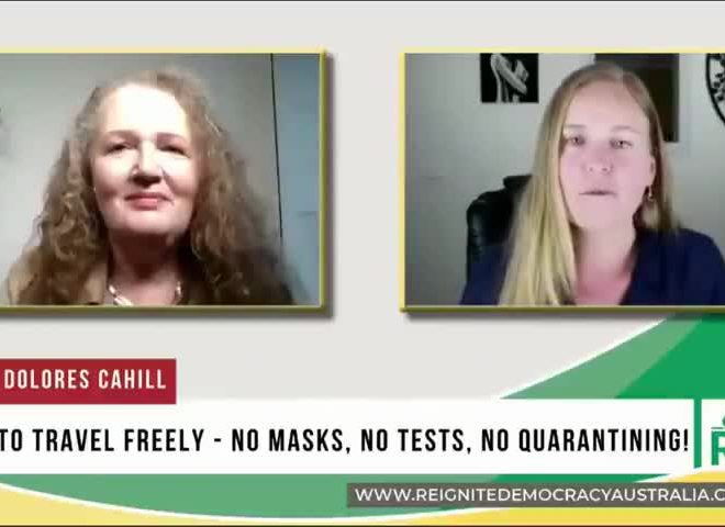 HOW TO LAWFULLY AVOID MASKS, TESTS AND QUARANTINES DURING TRAVEL – PROF. DOLORES CAHILL