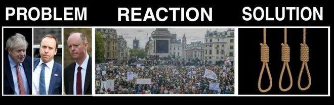 Problem, Reaction, Solution
