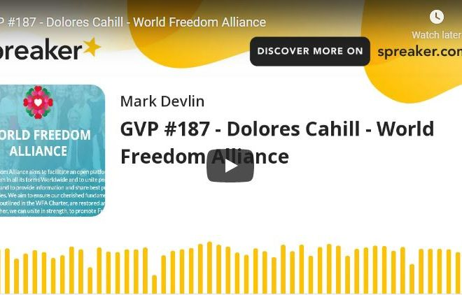 Dolores Cahill – World Freedom Alliance