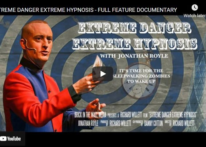 EXTREME DANGER EXTREME HYPNOSIS – FULL FEATURE DOCUMENTARY