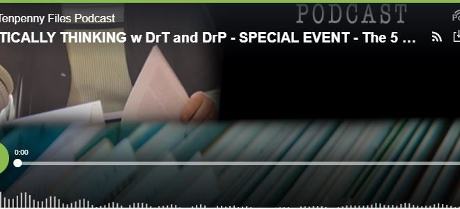 """The Tenpenny Files Podcast: On Sunday, May 16, The Five Doctors gathered to continue the discussion regarding the transmission of """"something"""" from an injected (vaccinated) person to those who have not been injected (unvaccinated)."""