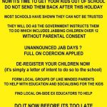 ** Urgent Warning ** Get your kids out of school. THIS IS NOT A DRILL