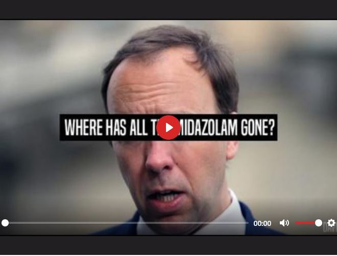 WHERE HAS ALL THE MIDAZOLAM GONE? – DAVID ICKE