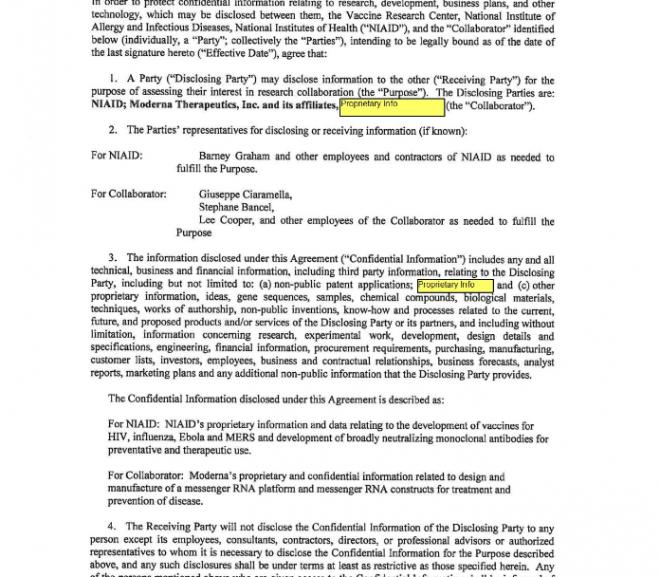 Secret documents reveal that Moderna sent the coronavirus vaccine to the University of North Carolina weeks before the pandemic