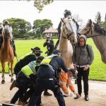 'silent protests' against lockdown sweep Australia with 135 arrested in SIXTY NINE rallies in NSW alone and hundreds more threaten to storm Queensland and Victorian parliaments