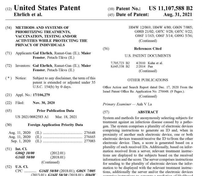 Pfizer patent approved for tracking vaccinated humans worldwide via microwave and graphene held in fatty tissues of the vaccinated