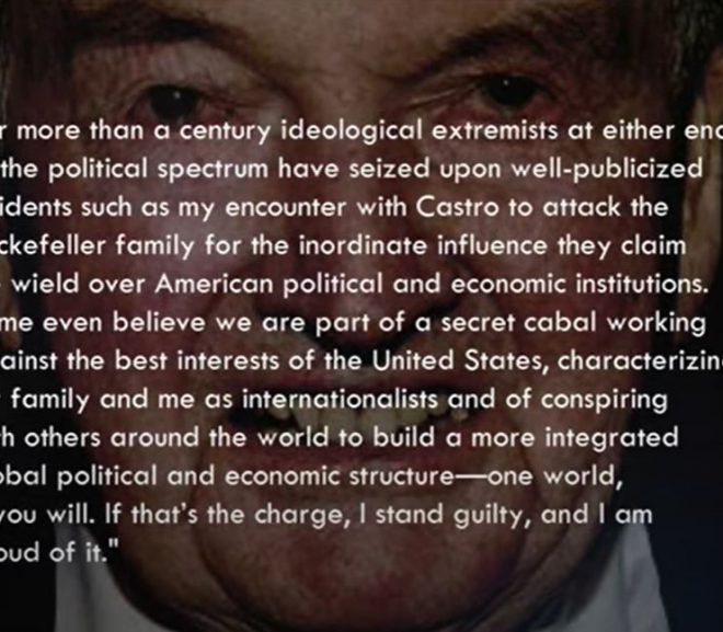 """""""The Real ENEMY Then, IS HUMANITY"""" – Rockefellers & The Club of Rome"""
