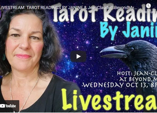 LIVESTREAM: TAROT READINGS BY JANINE & JeanClaude@BeyondMystic