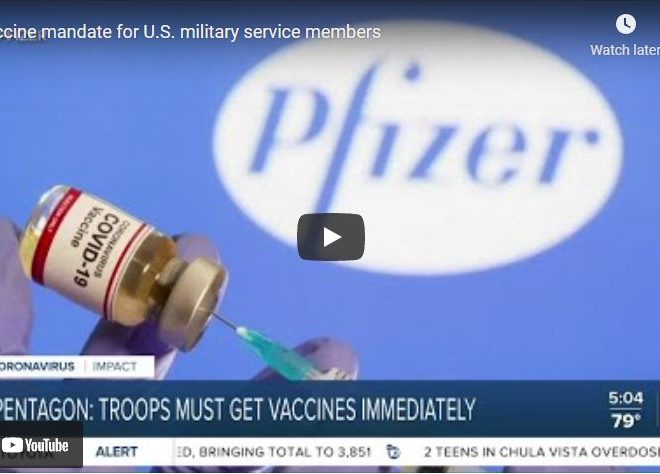 New Navy Guidance Will Discharge Sailors Refusing Pfizer COVID-19 Vaccination Without Exemption